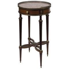 Little Vintage Table, Mahogany Wood, Late 19th Century