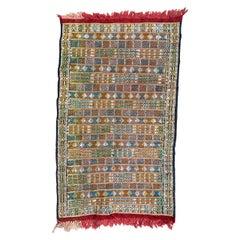 Little Vintage Tribal Moroccan Woven Rug