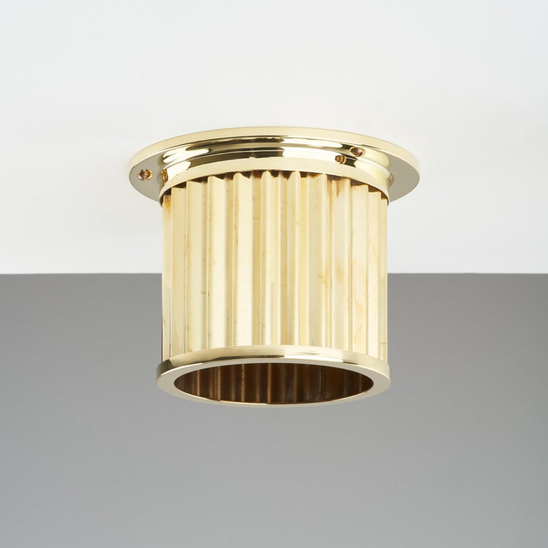 And Objects, product design studio founded by Martin Brudnizki and Nick Jeanes based in London.  Softly diffusing light and channelling industrial design influences, the spot diffusers have been designed to cover and decorate widely used recess