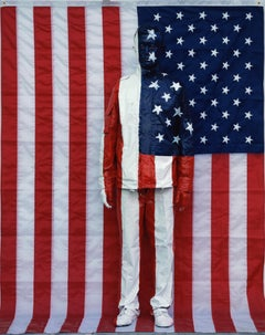 American Flag - Contemporary, Figurative, C-Print, Early 21st Century