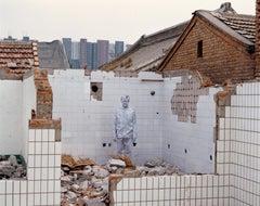 Demolition - Contemporary, Figurative, C-Print, Early 21st Century
