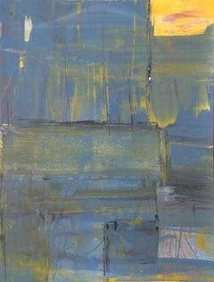 Abstract Monoprint by Liu Jian