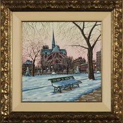 Notre Dame in Winter (Postcards From Paris)