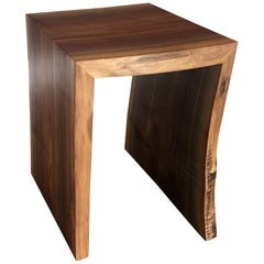 Black Walnut End Table live edge
