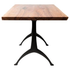 Live Edge Dining Table on Legacy Wishbone Base by Alabama Sawyer