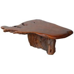 Live Edge Rootwood Coffee Table, U.S.A, 1970s