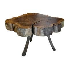Live Edge Table, 19th Century