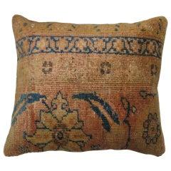 Living Coral Persian Rug Pillow