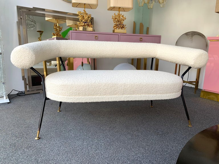 Mid-Century Modern Living Room Set by IPA Bologne, Italy, 1950s For Sale
