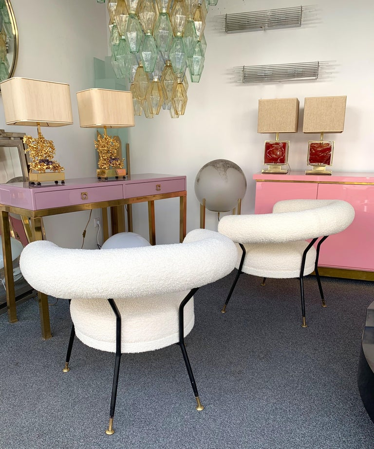 Italian Living Room Set by IPA Bologne, Italy, 1950s For Sale