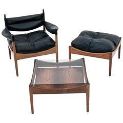 Living Room Set by Kristian Vedel, Danish Design, 1960s