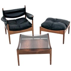 Living Room Set by Kristian Vedel, Danish Design, 1960s