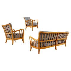 Living Room Set by Thonet, Attributed to Josef Frank, Wood, 1940