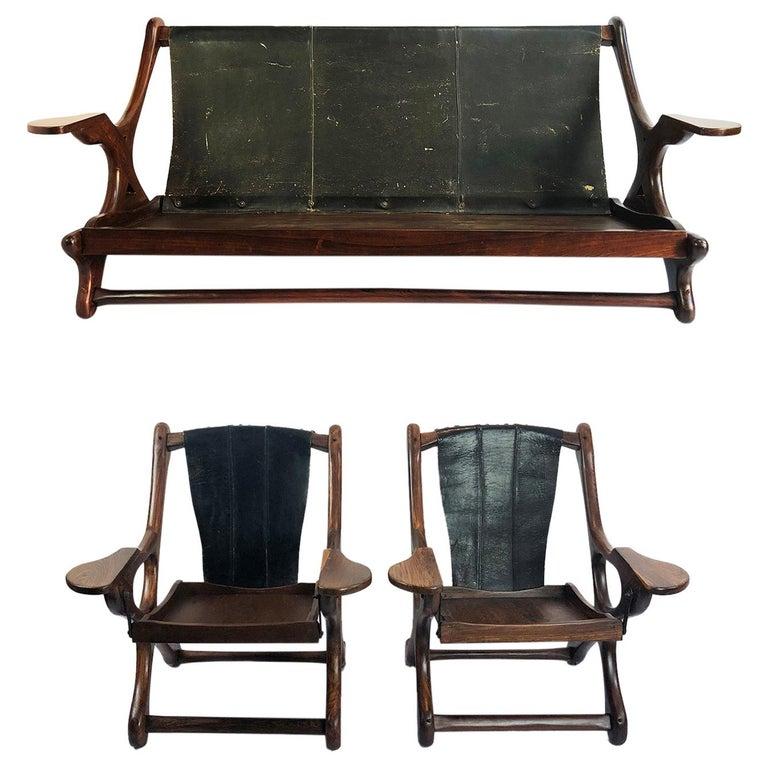 Living Room Set of Original Don Shoemaker Furniture for Señal For Sale