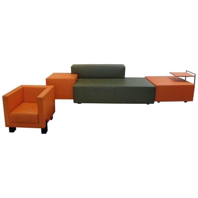 Living Room Set Poltrona Frau For Sale at 1stdibs