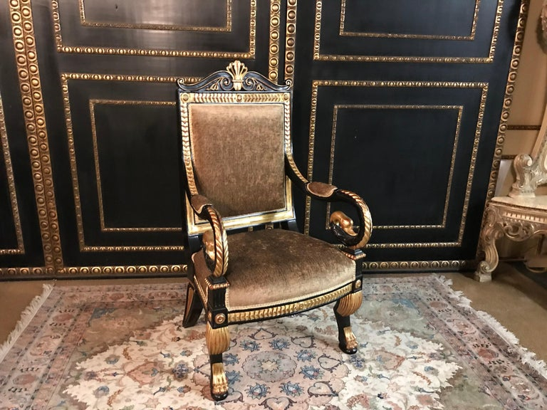 Living Room Suite in the Empire Style For Sale 3