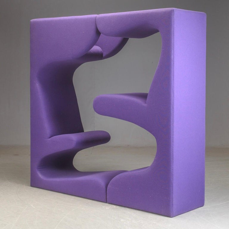 Beautiful and playful multi purpose furniture by Verner Panton for Vitra. 