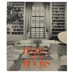 """""""Living with Books Vintage Decorative"""" Book by the New York Times"""