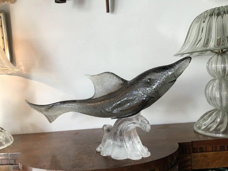 "Other Livio Seguso ""Dolphin"" Murano Glass, 1955, Italy For Sale"