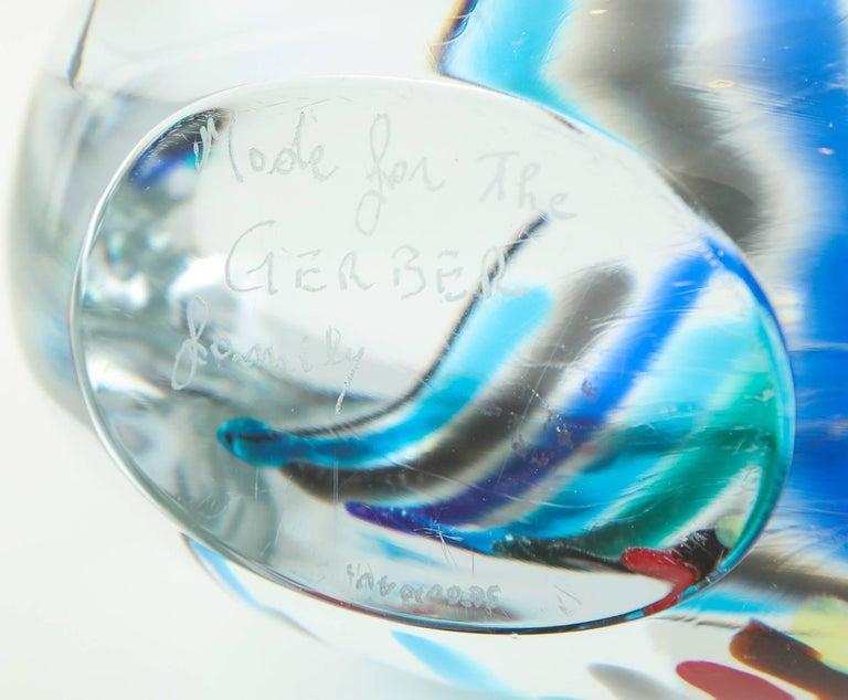 Livio Seguso Glass Sculpture For Sale 5