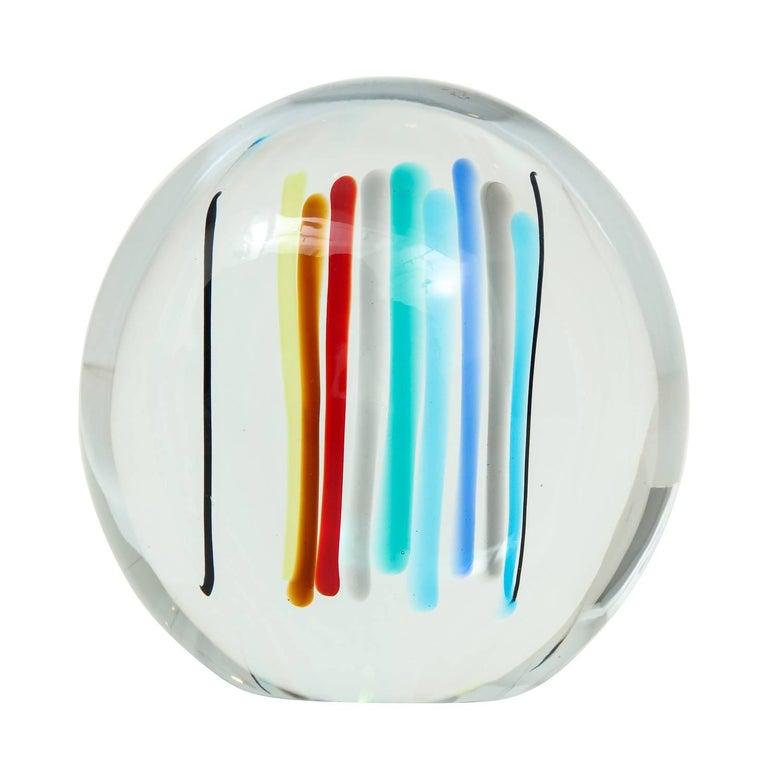 Livio Seguso Glass Sculpture For Sale
