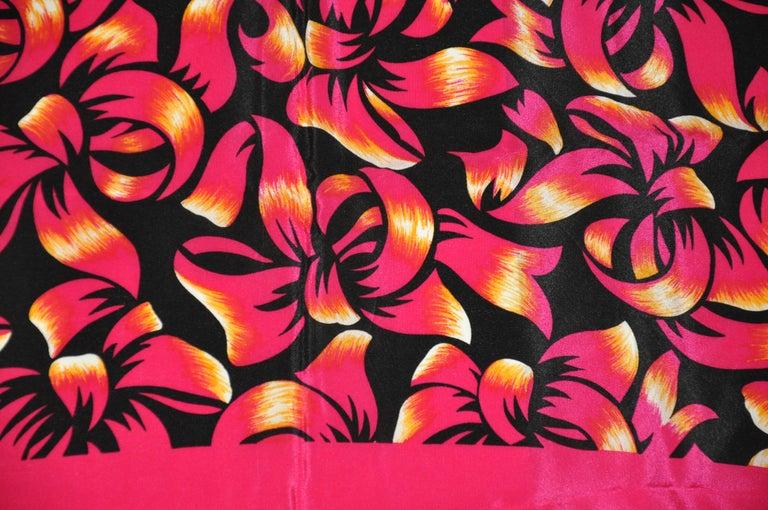 Pink Liz Claiborne Wonderfully Festive Fuchsia & Black