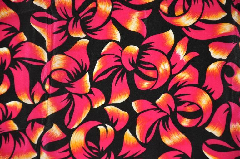 Women's or Men's Liz Claiborne Wonderfully Festive Fuchsia & Black