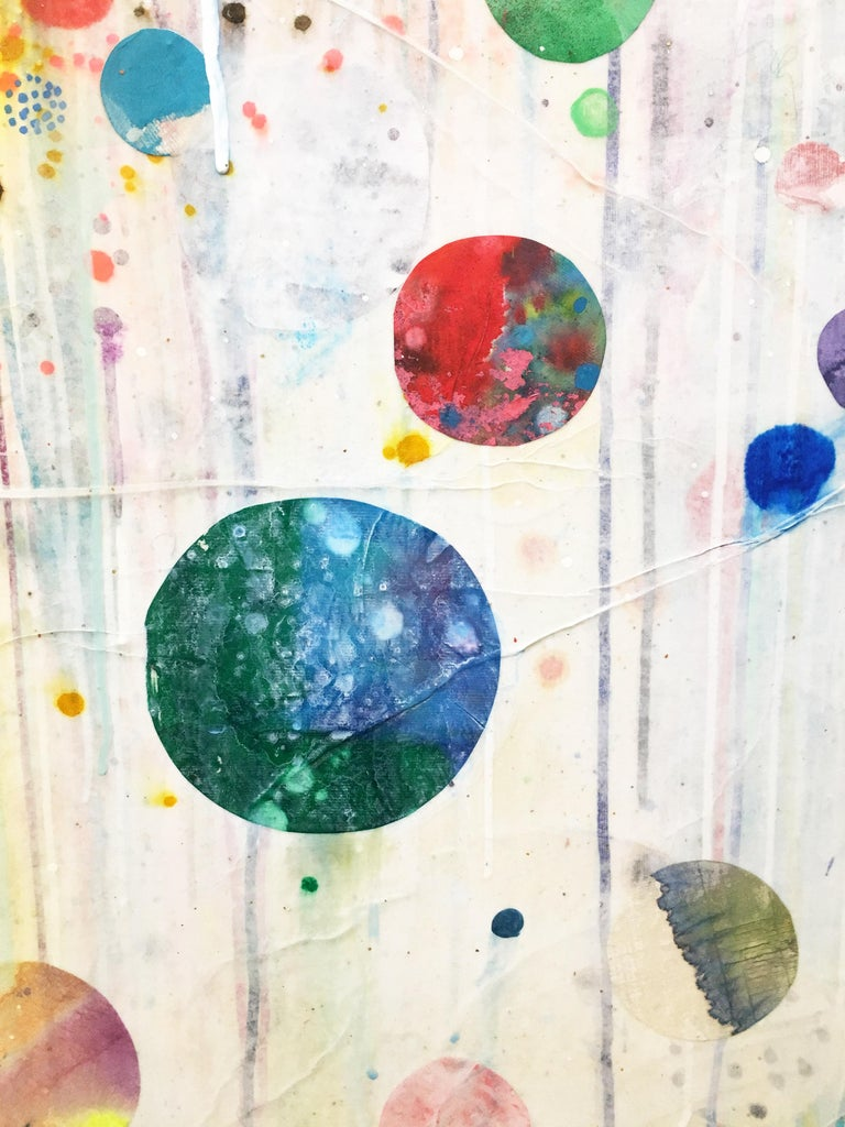 Colorful, Abstract painting, Liz Tran, Nico For Sale 4