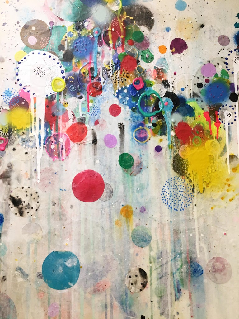 Colorful, Abstract painting, Liz Tran, Nico For Sale 6