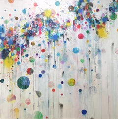 Colorful, Abstract painting, Liz Tran, Nico