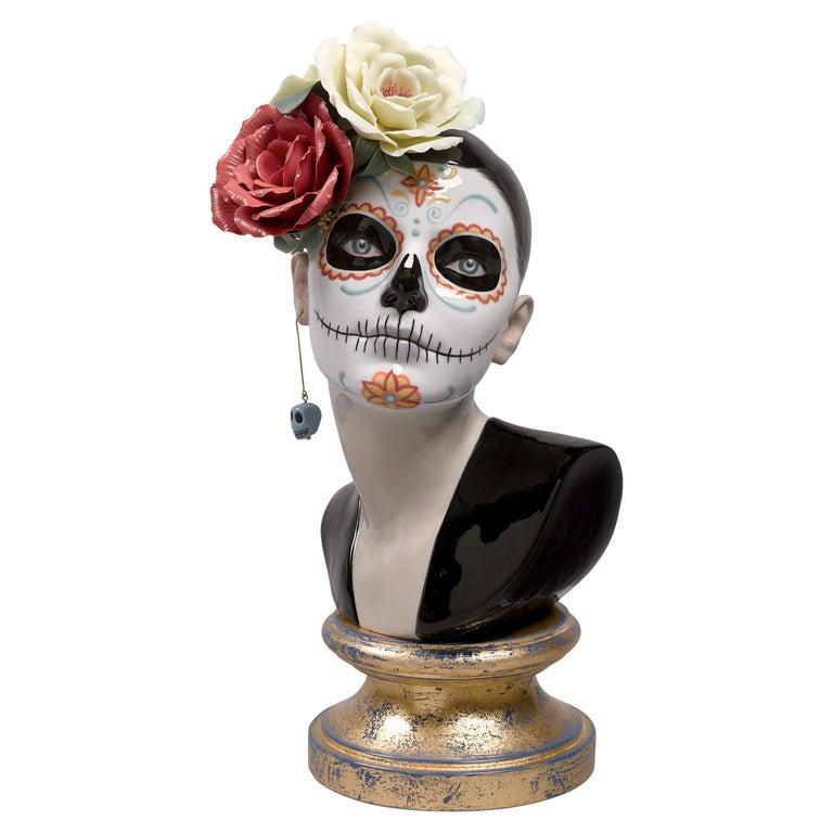Lladro Beautiful Catrina Figurine by Raul Rubio For Sale