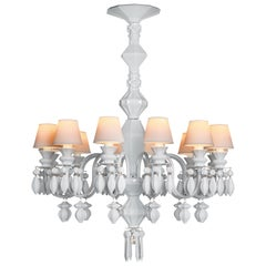 Lladro Belle de Nuit 12-Light Chandelier