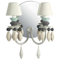 Lladro Belle de Nuit 2-Light Wall Sconce