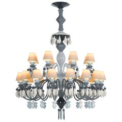 Lladro Belle de Nuit 24-Light Chandelier