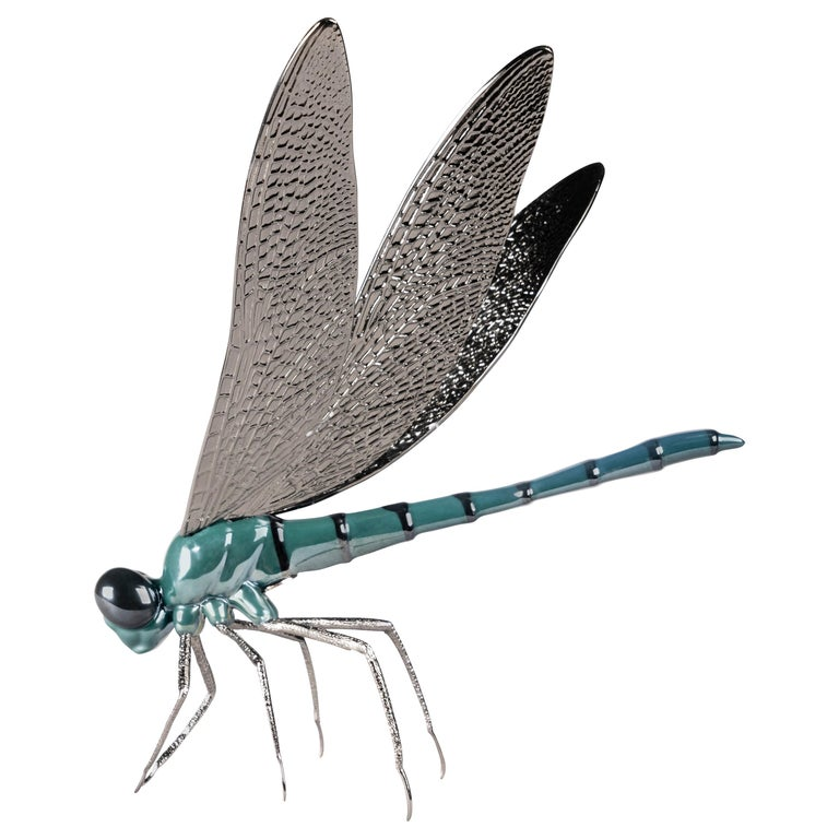 Lladro Dragonfly Figurine by José Luis Santes For Sale