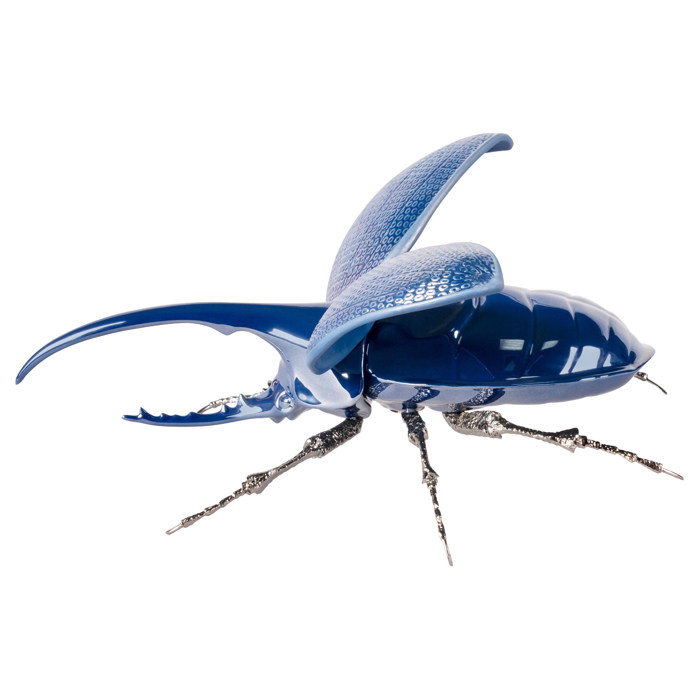 Lladro Hercules Beetle Figurine by José Luis Santes