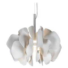 Lladro Nightbloom Hanging Lamp in White
