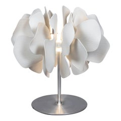Lladro Nightbloom Table Lamp in White by Marcel Wanders