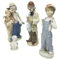 Lladro Porcelain Figurines, Spain
