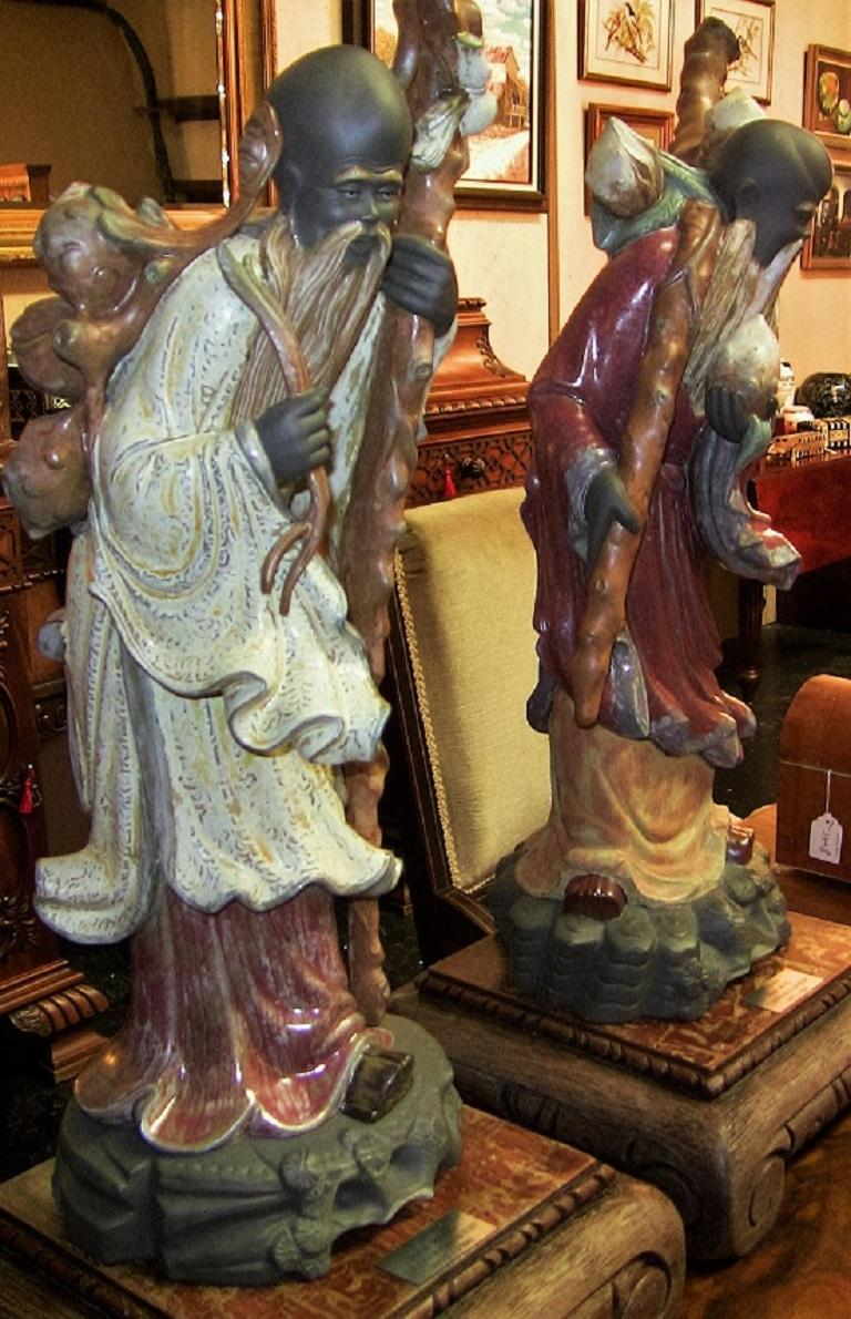 Lladro Retired Chinese Farmer Figurines For Sale 1