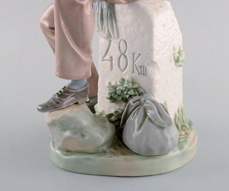 Lladro, Spain, Large Porcelain Figure, Troubadour, 1980s-1990s For Sale 2