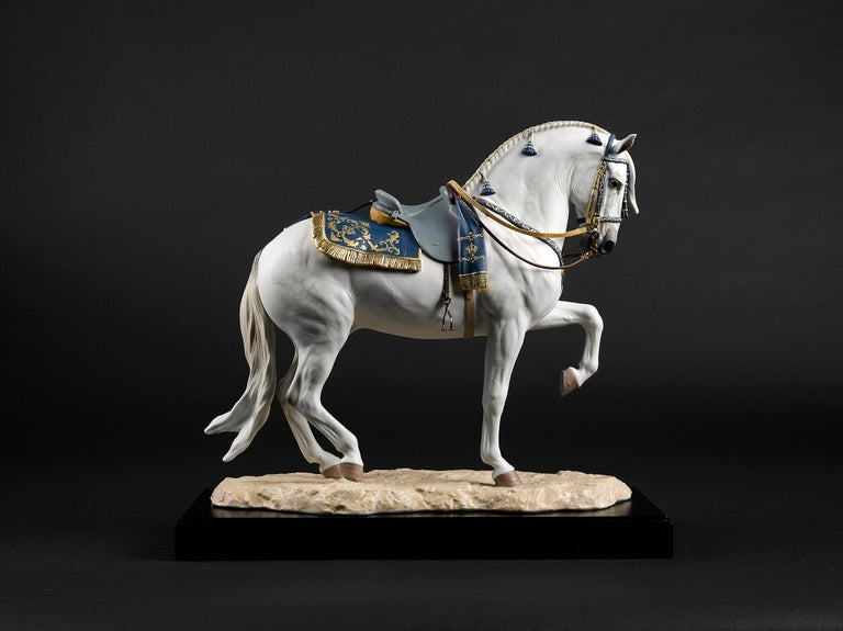 Lladro Spanish Pure Breed Horse Sculpture by Ernest Massuet For Sale 6