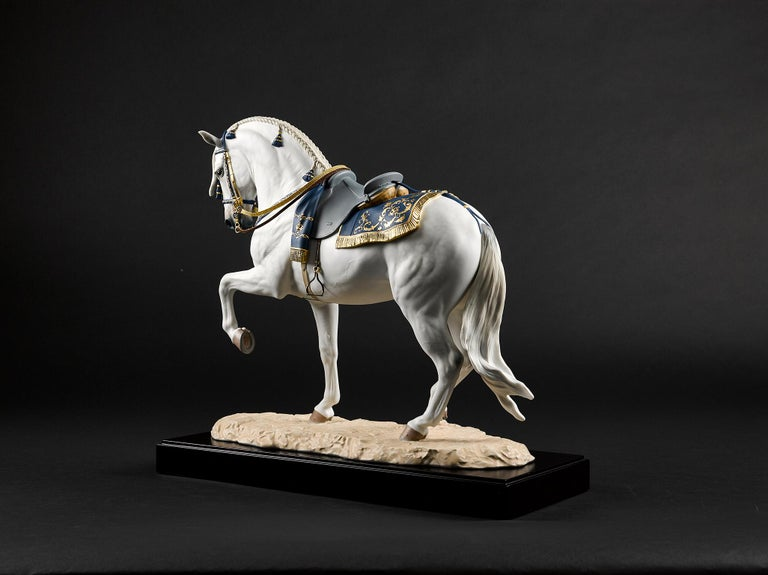 Lladro Spanish Pure Breed Horse Sculpture by Ernest Massuet For Sale 7