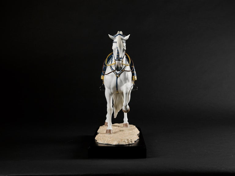 Lladro Spanish Pure Breed Horse Sculpture by Ernest Massuet For Sale 8