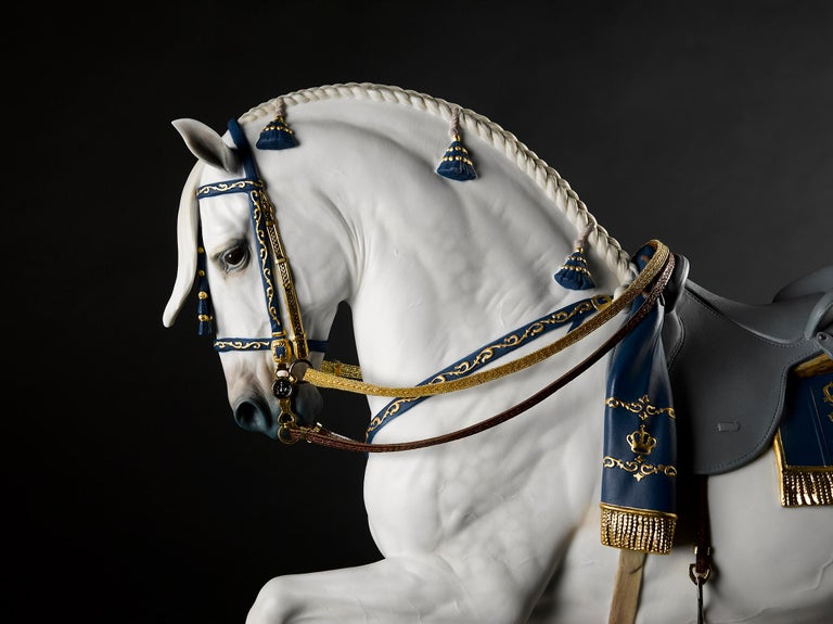 Lladro Spanish Pure Breed Horse Sculpture by Ernest Massuet For Sale 9