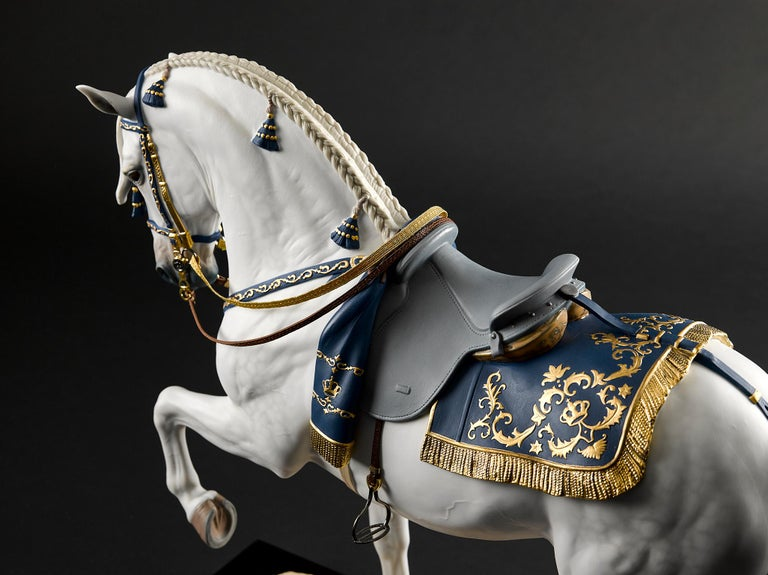 Lladro Spanish Pure Breed Horse Sculpture by Ernest Massuet For Sale 10