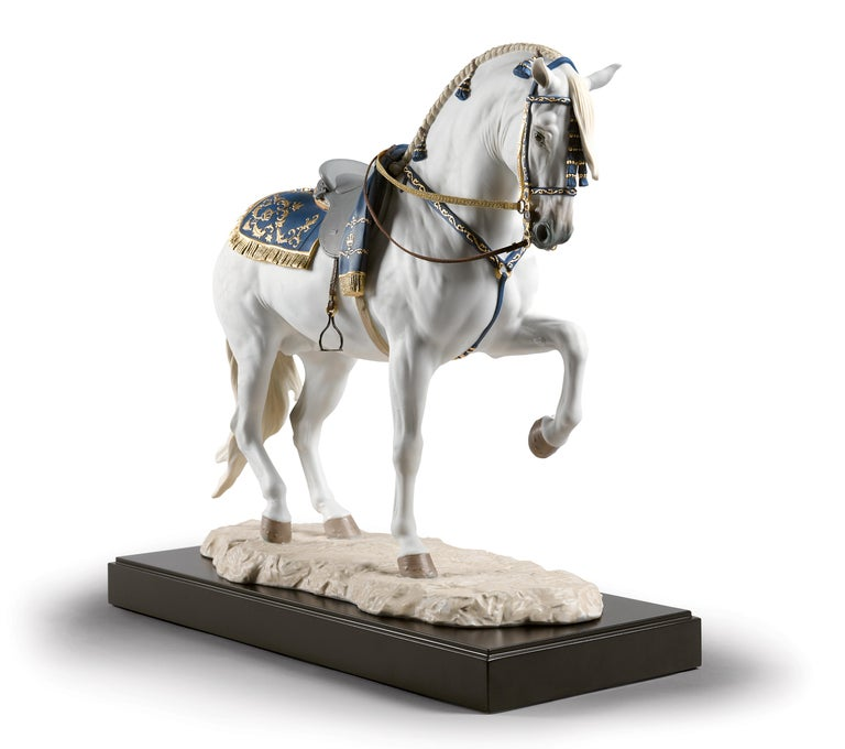 Lladro Spanish Pure Breed Horse Sculpture by Ernest Massuet In New Condition For Sale In New York, NY