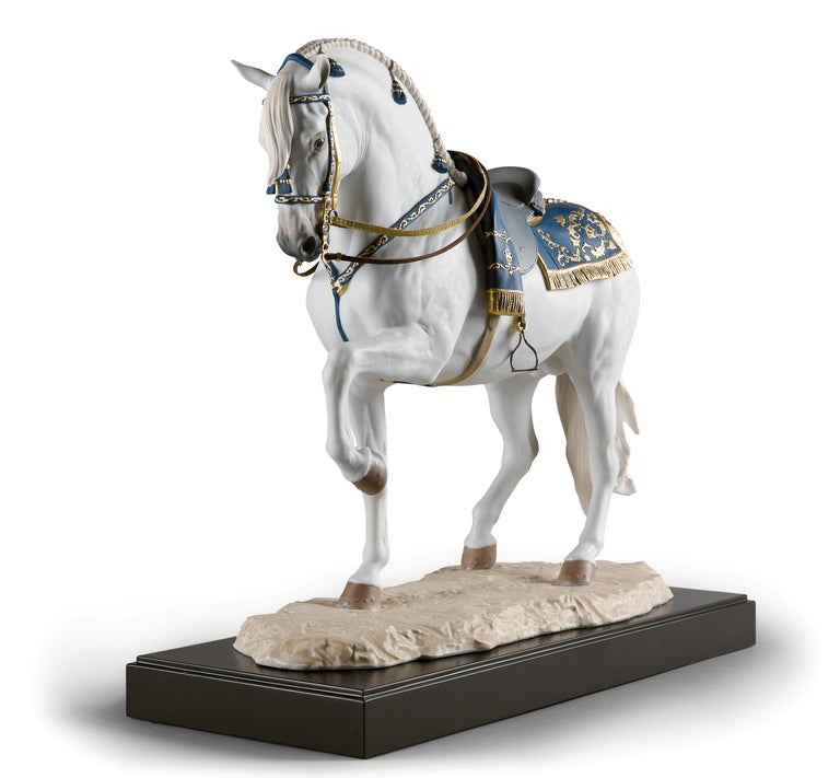 Contemporary Lladro Spanish Pure Breed Horse Sculpture by Ernest Massuet For Sale