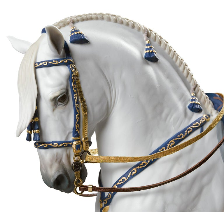 Lladro Spanish Pure Breed Horse Sculpture by Ernest Massuet For Sale 2