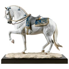 Lladro Spanish Pure Breed Horse Sculpture by Ernest Massuet